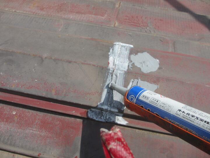 屋根塗装:補修