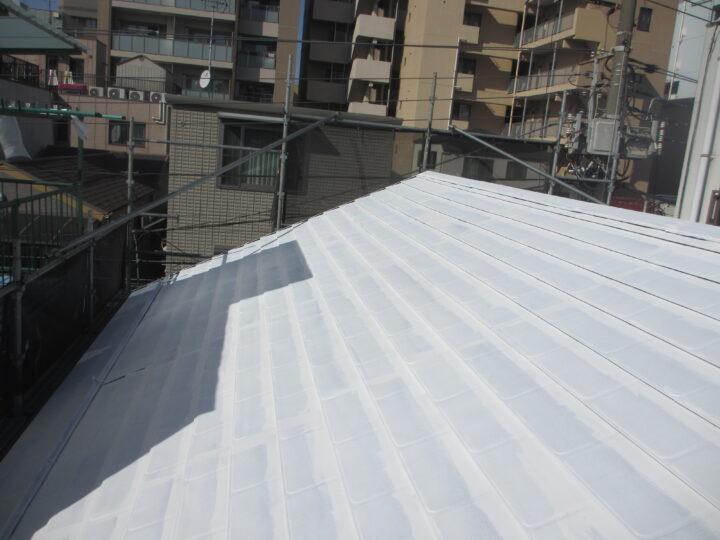 東京都江東区 S様邸 屋根塗装・防水工事