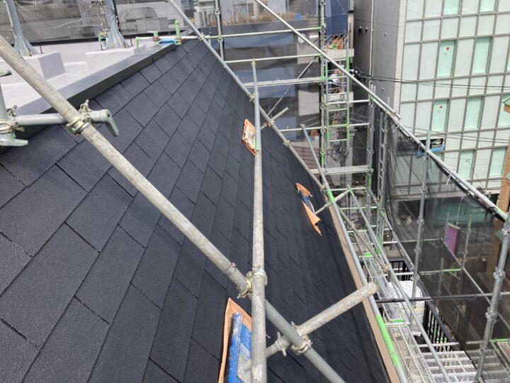 東京都新宿区 ST 屋根塗装工事