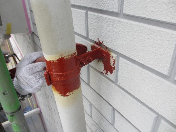 工種:鉄部塗装 錆止め材塗布