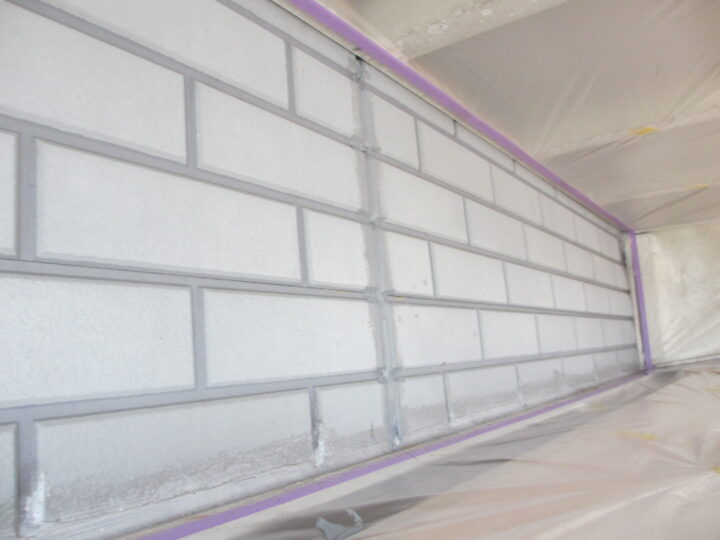 工種:外壁塗装 プライマー塗布