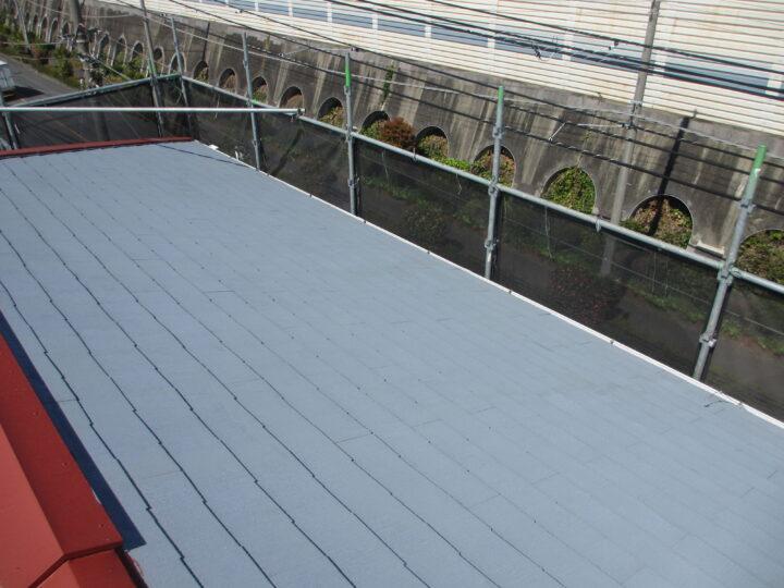 工種:屋根塗装 プライマー塗布
