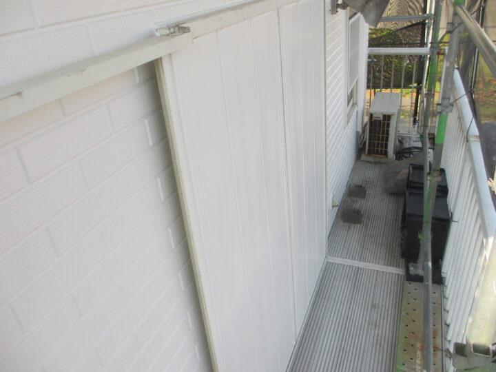 工種:鉄部塗装 引戸 第2回目塗装