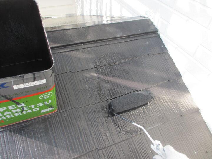 工種:屋根塗装 第2回塗装