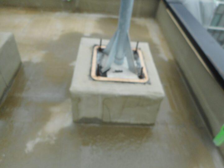 屋上防水工事 プライマー材塗布