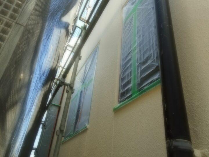 工種:外壁塗装工事 第3回目塗装(トップコート)