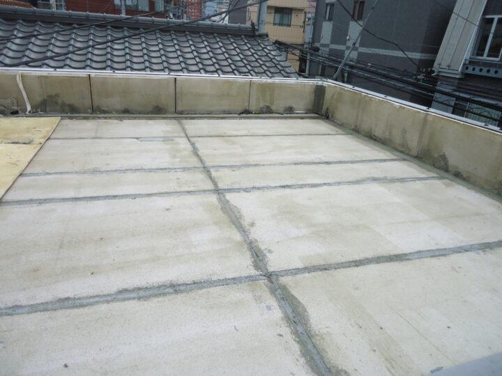下地補修 目地埋め モルタル材充填