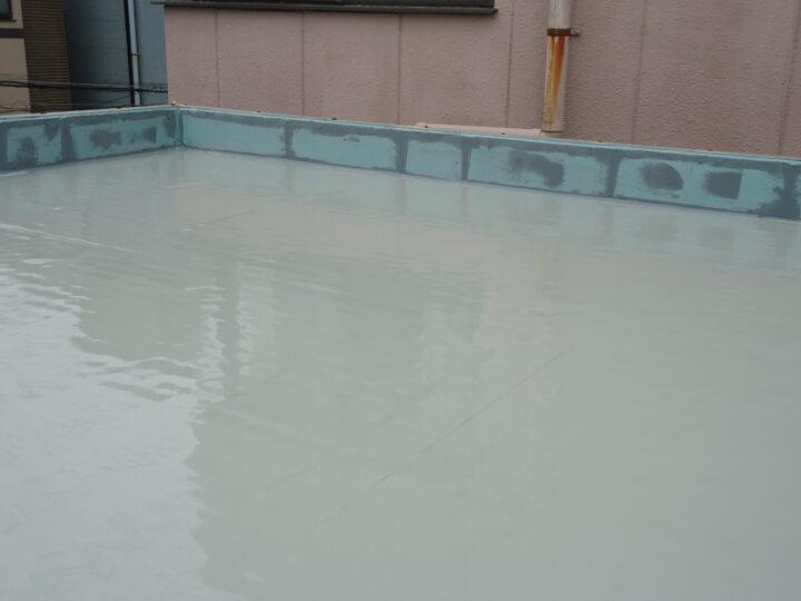 ウレタン塗膜防水(第2回目塗装)