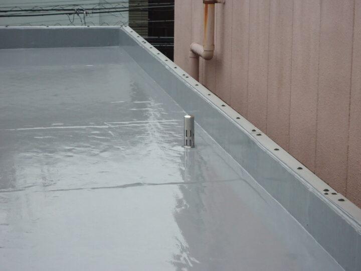 ウレタン塗膜防水(第3回目塗装)
