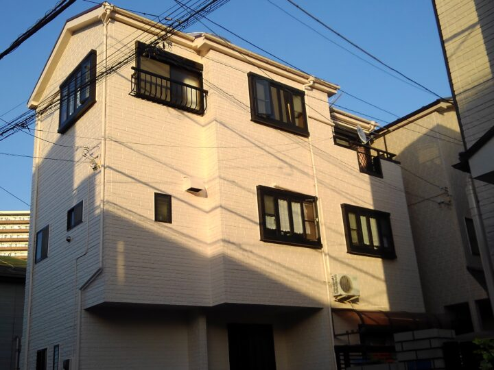 東京都墨田区 K様邸 外壁・屋上塗装工事