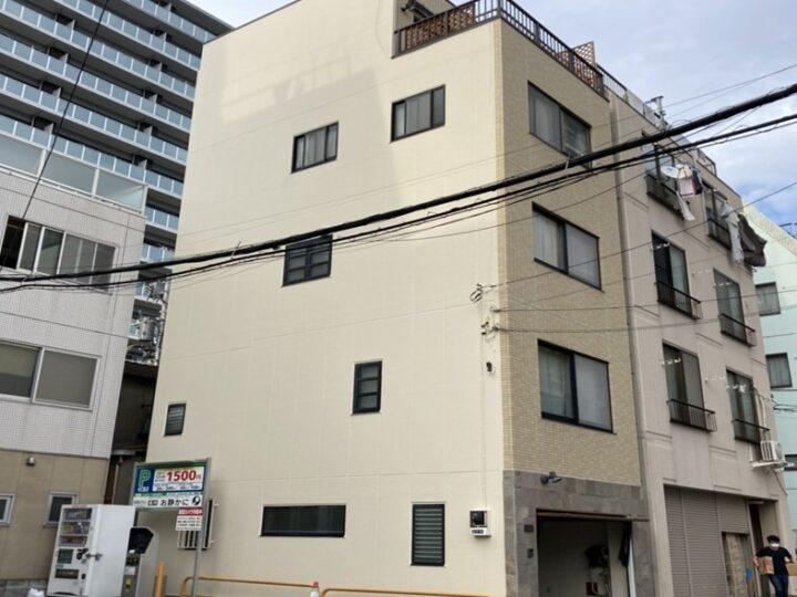 東京都墨田区 S様邸 外壁塗装・屋上防水工事
