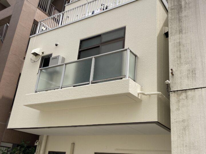 東京都台東区 K様邸 外壁塗装・屋上防水工事